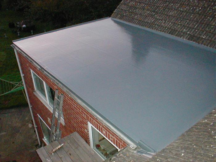 Ремонт крыши своими руками плоской 50