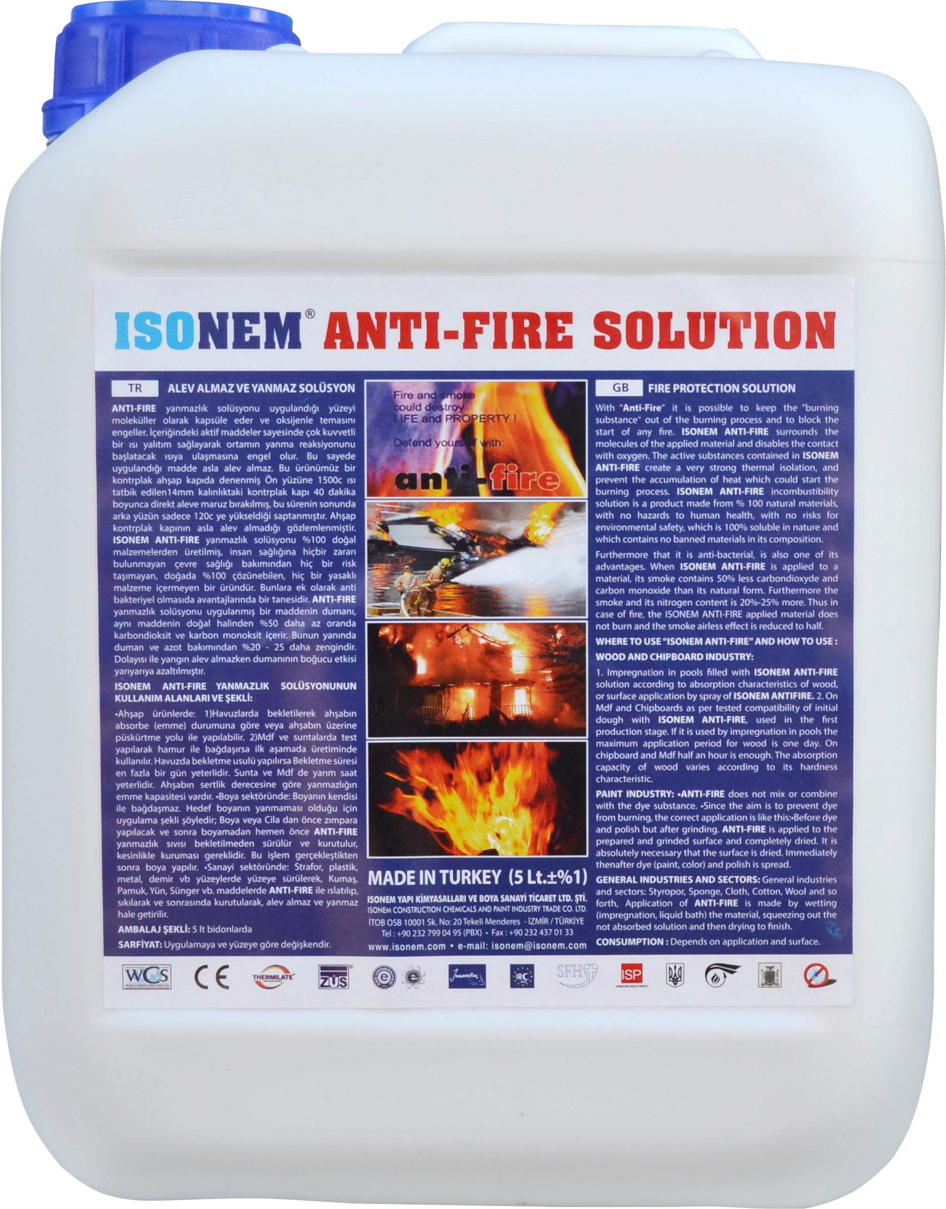 Огнезащита Isoneum Anti-Fire Solution