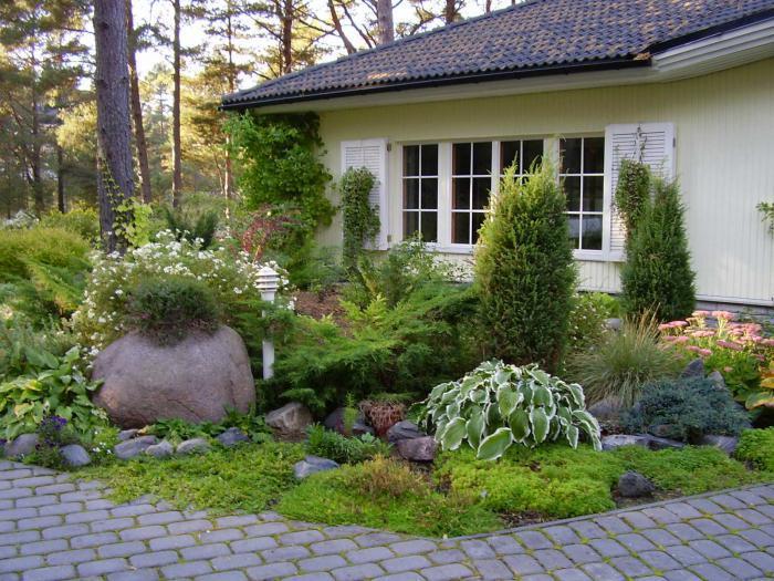 Фото ландшафт 11 ландшафтный дизайн