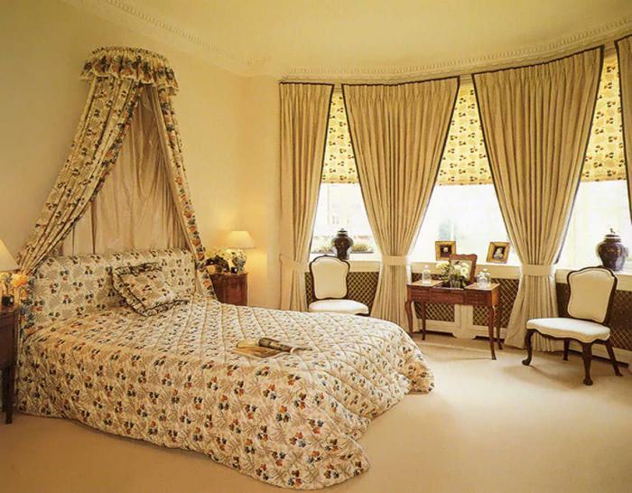 Дизайны гардин для спален