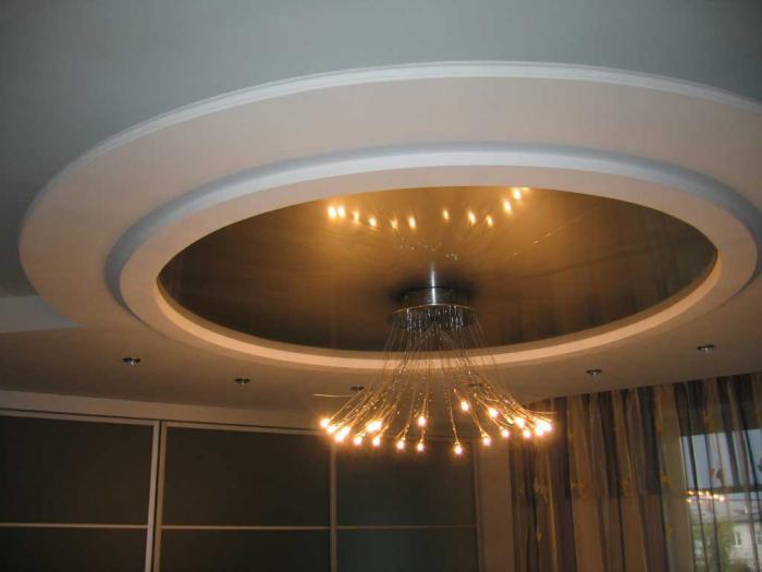 Потолок круг 2