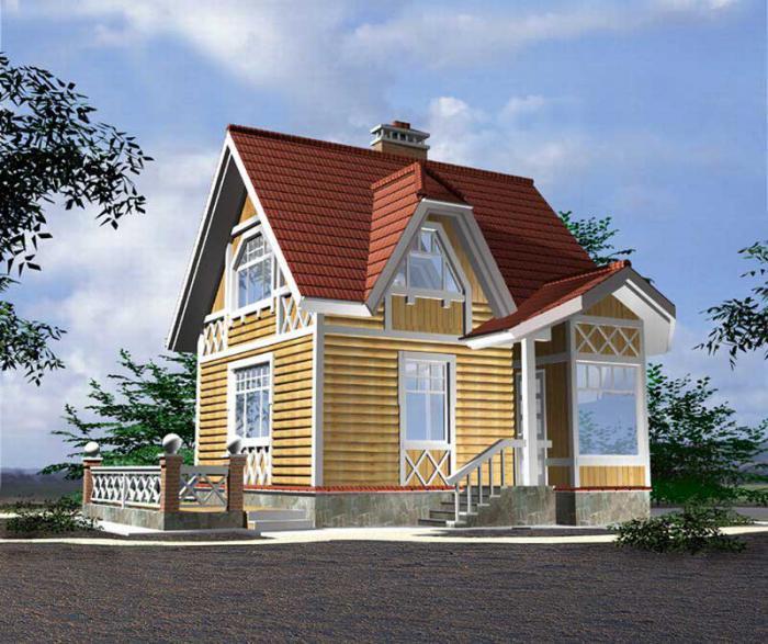 дачные домики фото 3