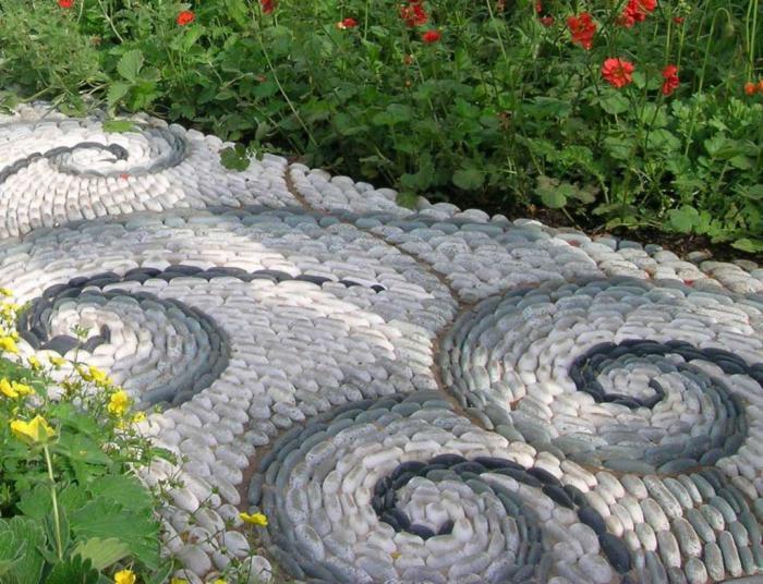 15 садовые дорожки экстерьер фото