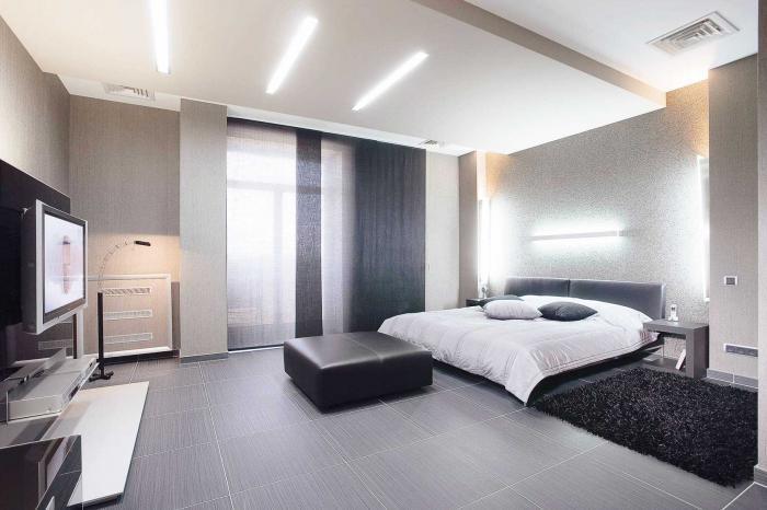 Ремонт спальной комнаты в квартире