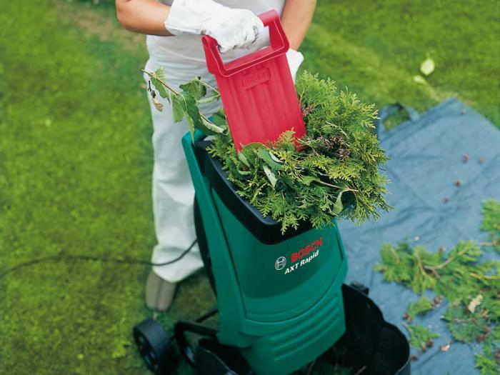 Измельчитель садовый электрический своими руками