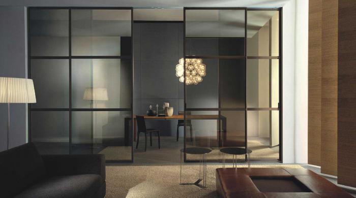 Оригинальные решения  перегородки в квартире  Дизайн
