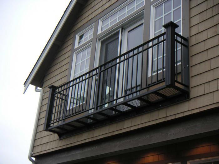 Французский балкон украсит ваш дом - публикации megastroyka.