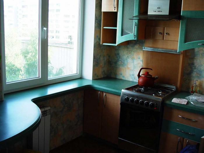 Столешница вместо подоконника на кухне фото вариантов - стро.