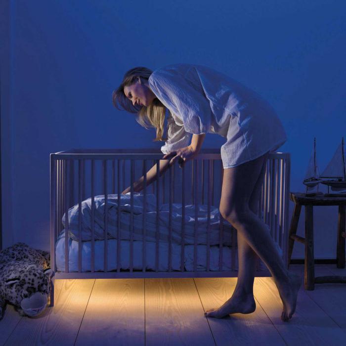 Подсветка кровати светодиодными лентами своими руками