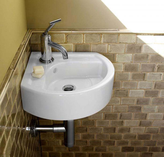 Small corner bathroom sinks