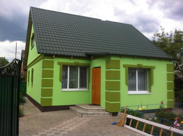 Как покрасить фасад дома своими руками 84