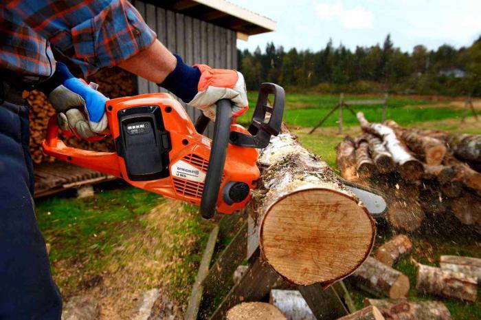 Как правильно выбрать бензопилу для заготовки дров